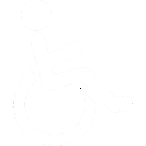 Logo personne à mobilité réduites