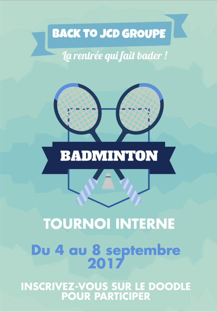 Tournoi interne JCD