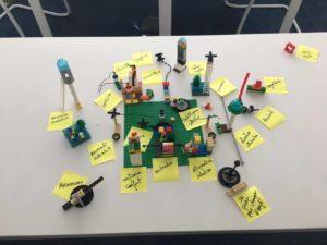 Projet réalisé en Lego